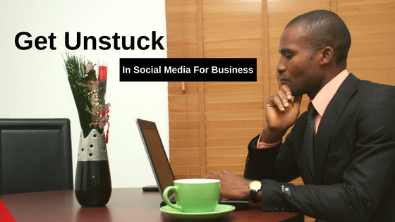 Getting small business owners out of being stuck in social media